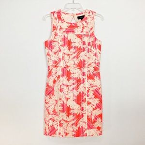 NWT J Crew Coral Sheath Dress